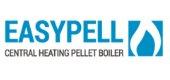 Easypell pellet burner heating logo