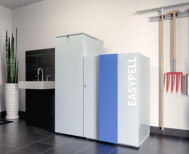 easypell pellet boiler hot water heating system