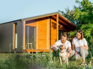 modern environmentally friendly home